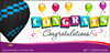 Balloon Voucher -  Congratulations