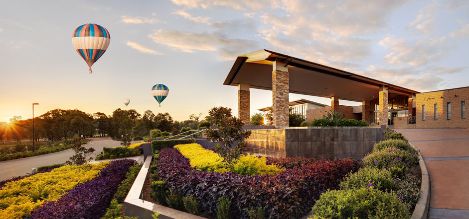 Beyond Ballooningcrowne Plaza Hunter Valley Beyond