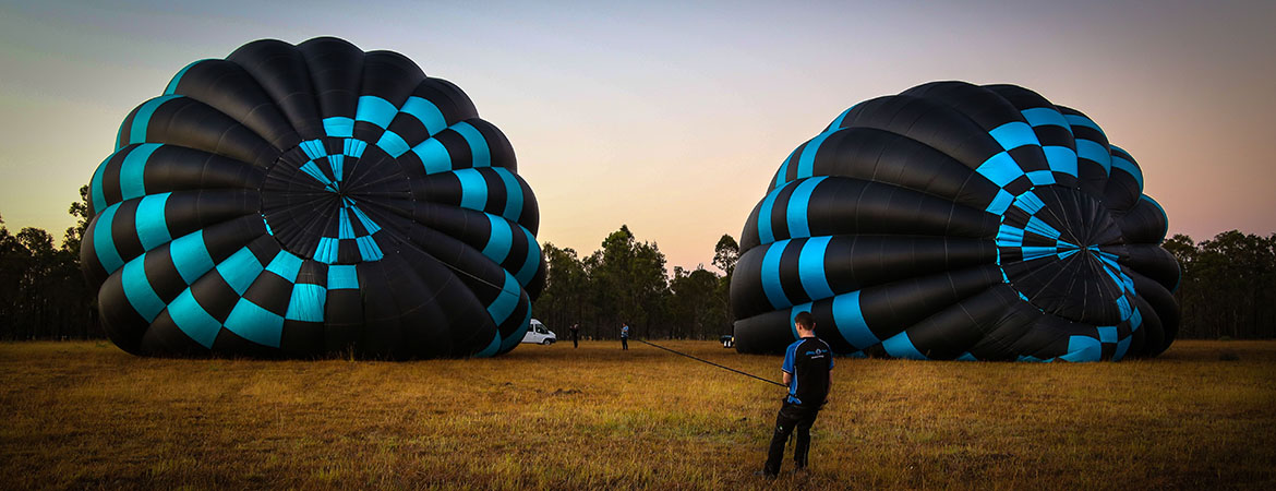 morning balloon flight in hunter valley